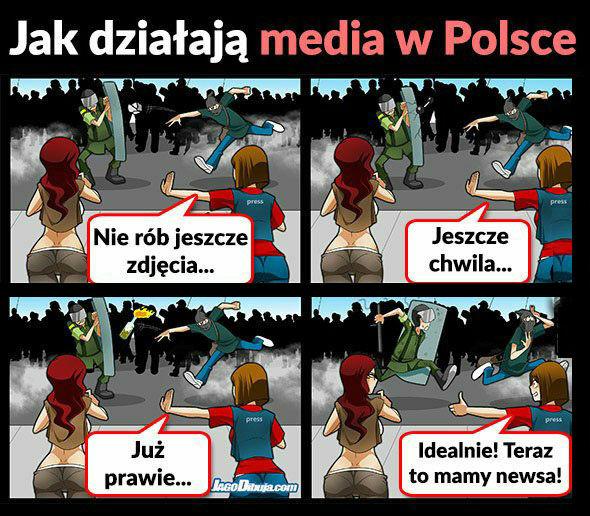 Tak działają media?