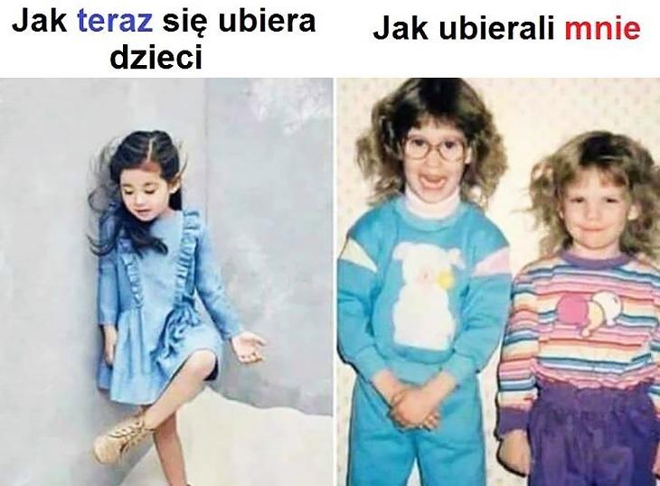 Moda z dawnych lat :D