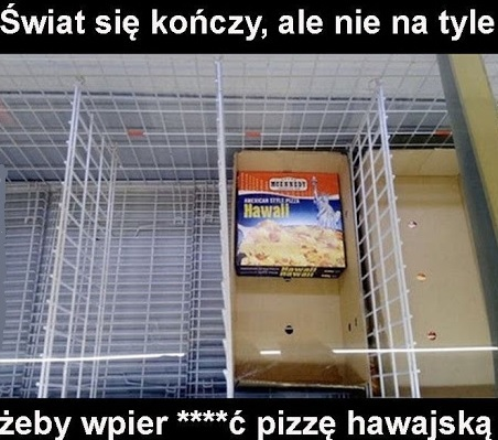 Pizza hawajska :D