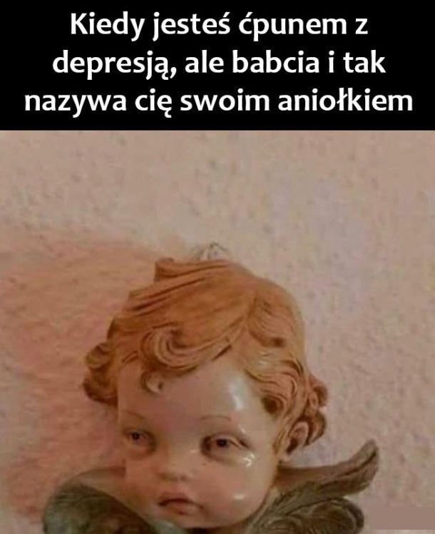 Aniołek babci :D