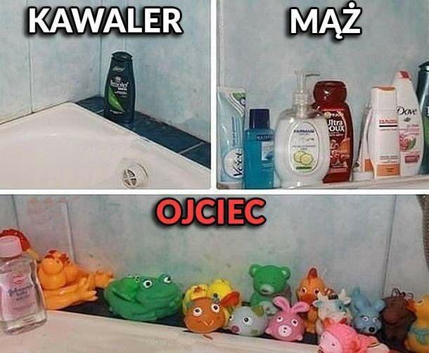 Ewolucja łazienki :D