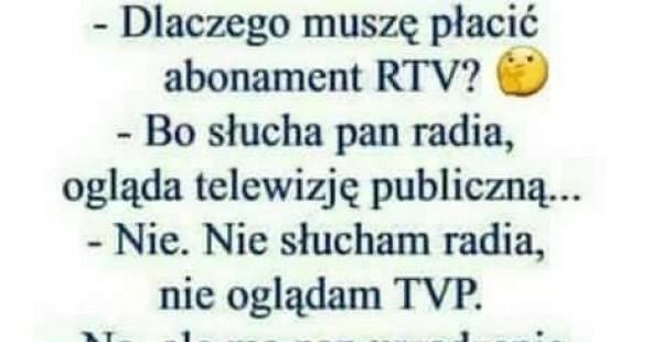 Abonament RTV :D