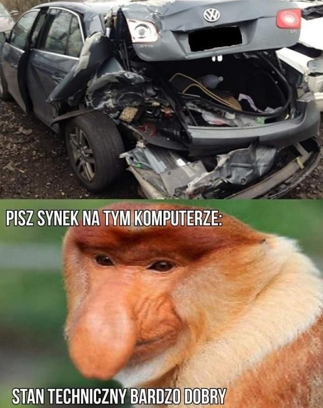 Janusz sprzedaje auto :D