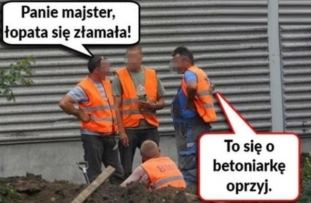 Praca na budowie ;D