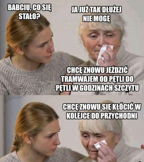 Babcia już nie daje rady