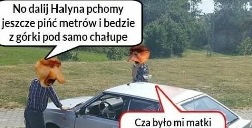 Gdy auto nie odpala :D