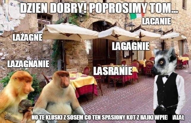 Włoskie wakacje Janusza :D