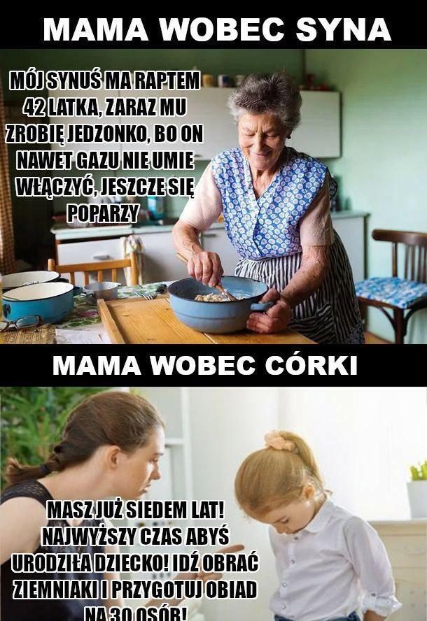 Matki i dzieci :D