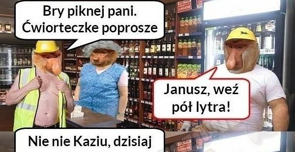 Janusz w sklepie :D