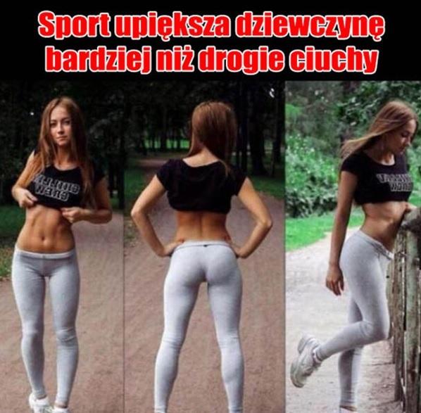 Sport to największa ozdoba kobiety