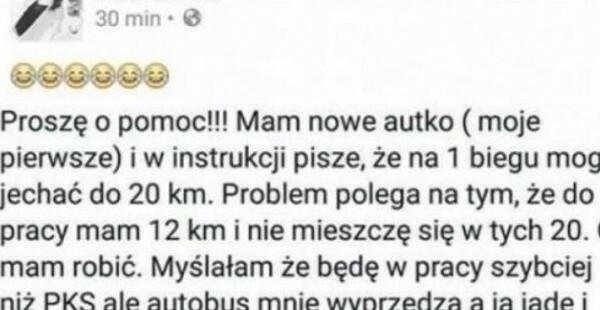 Problem kobiety-kierowcy :D