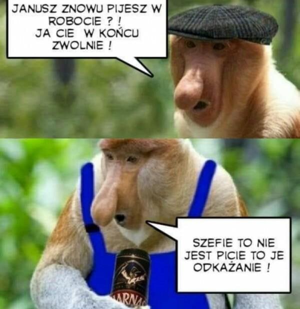 Janusz i alko :D