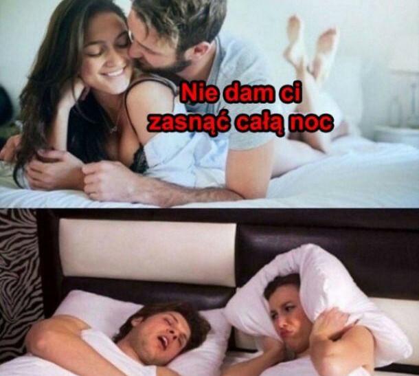 Nie da jej zasnąć :D