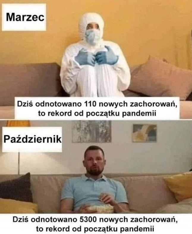 8 miesiąc pandemii