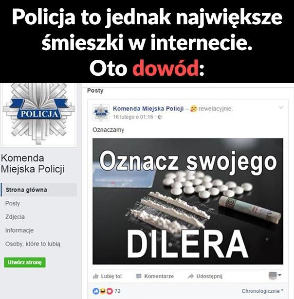 Policja ma poczucie humoru :D