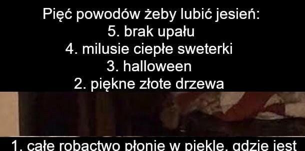 5 powodów, żeby lubić jesień :D