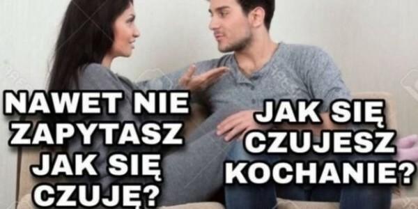 Typowa rozmowa pary :D