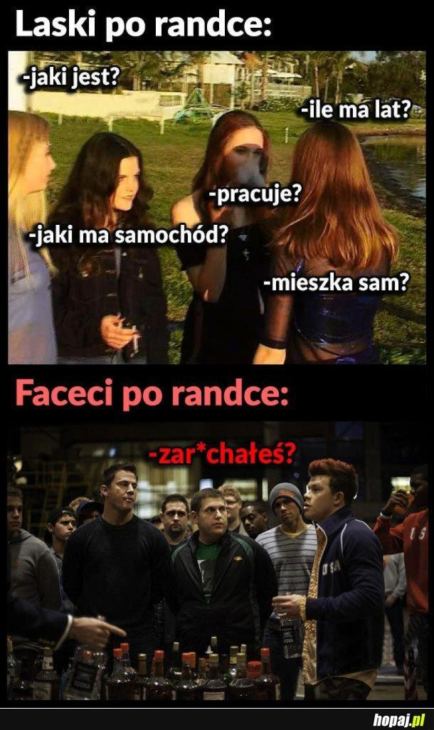 Laski po randce VS faceci