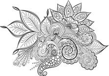 Mandala liście