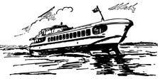 Mały statek pasażerski