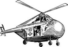 Helikopter w akcji