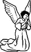 Modlący się anioł