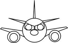 Samolot twarz