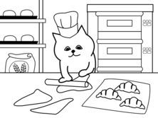 Kot piekarz
