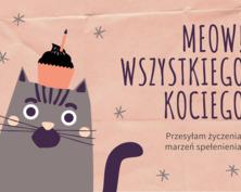 Kartka urodzinowa dla kociary