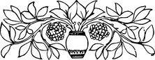 Liście w wazonie