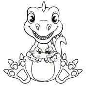Dinozaur gracz