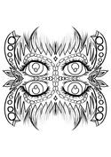 Mandala oczy