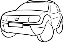 Jeep maska