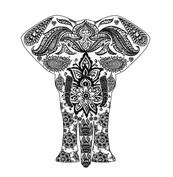 Mandala słoń