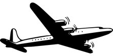 Samolot z dołu