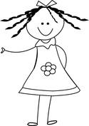 Lalka dziewczynka