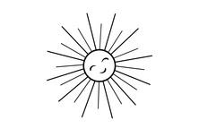 Rozmarzone słońce