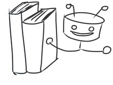 Robot i książki