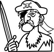 Pirat z mieczem