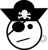 Emotka pirata