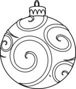 Bombka z ornamentem
