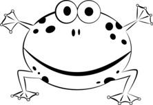 Okrągła żaba