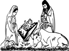 Jezus w stajence