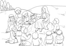 Jezus z uczniami