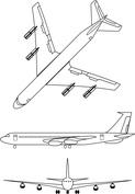 Samolot trzy ujęcia