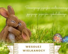 Wesołej Wielkanocy kartka