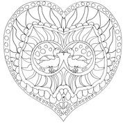 Mandala miłość