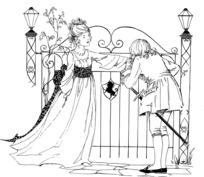 Księżniczka szczegółowa