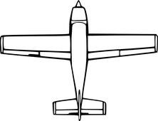 Samolot szkic