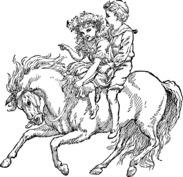 Dzieci na koniu